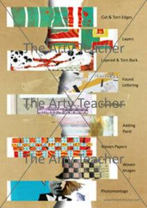 Collage Techniques & Processes