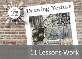 Photographing and Drawing Texture Cover