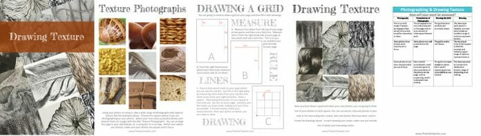 Drawing Texture Example Pages