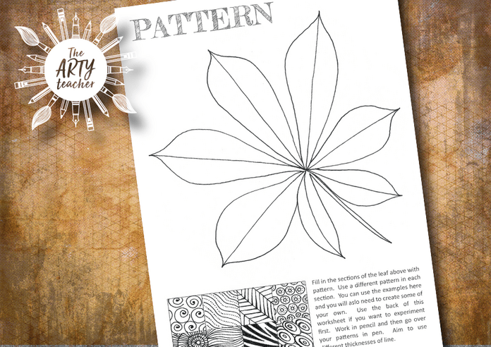 Draw Patterns in the Leaf