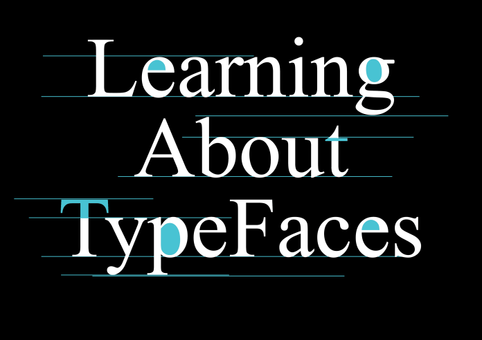 Learning About Typefaces