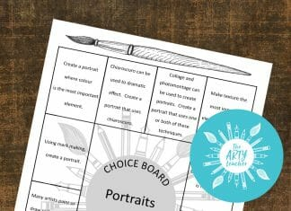 Choice Board portraits