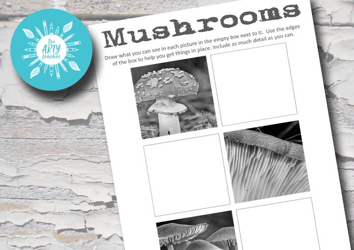 Drawing Mushrooms