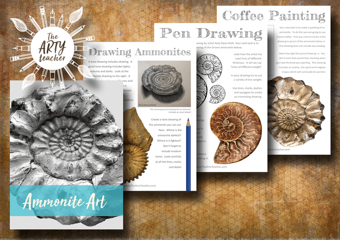 Ammonites Home Learning Cover