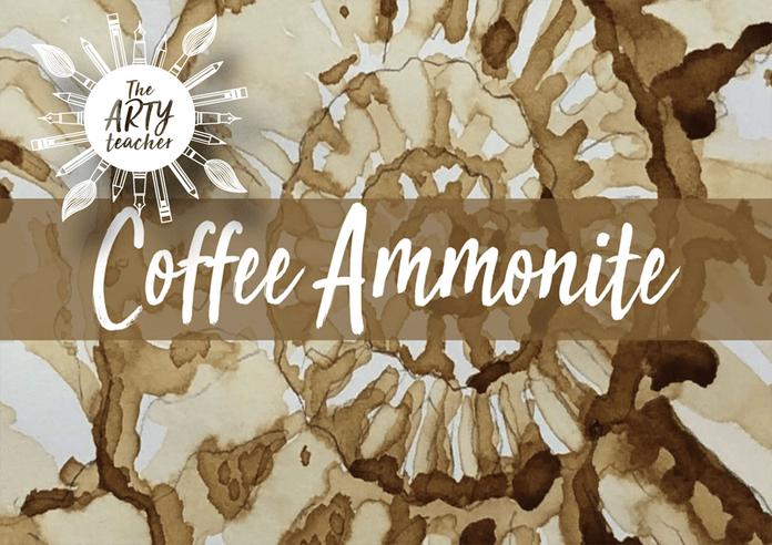Ammonite Coffee Art