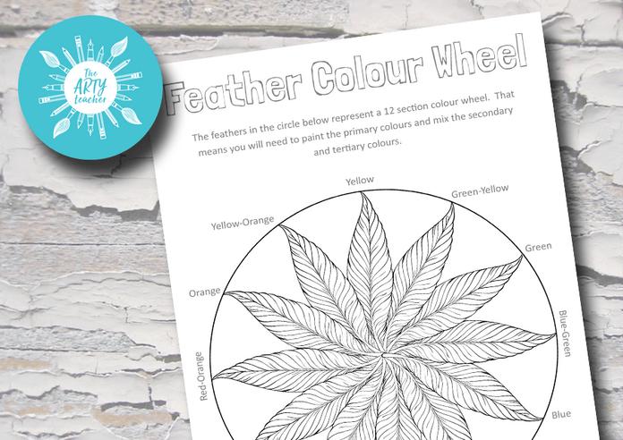 Feather Colour Wheel