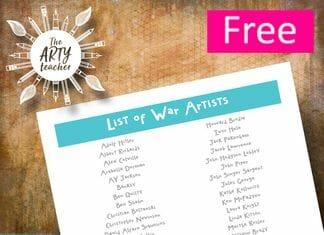 List of War Artists