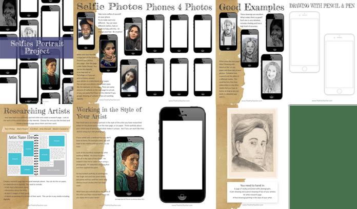 selfies portrait project