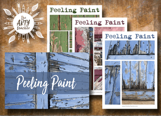 Peeling Paint Art Resources